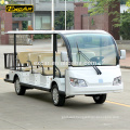 EXCAR 11 seater electric tour car go kart Chinese electric Sightseeing bus