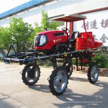 Pulverizador de barra de pulverização tipo trator para agricultura
