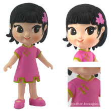 Moveable Parts Plastic Girl Toys
