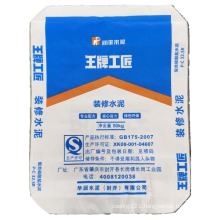 Green protection plastic woven building material bag