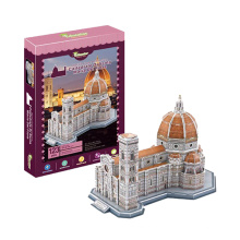 123ПК образования удивительные 3D-флорентийского собора головоломки игрушка (10222824)