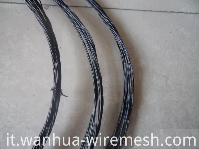 BWG18 building material twisted soft annealed black iron wire
