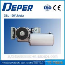 Motores elétricos Deper para portas automáticas