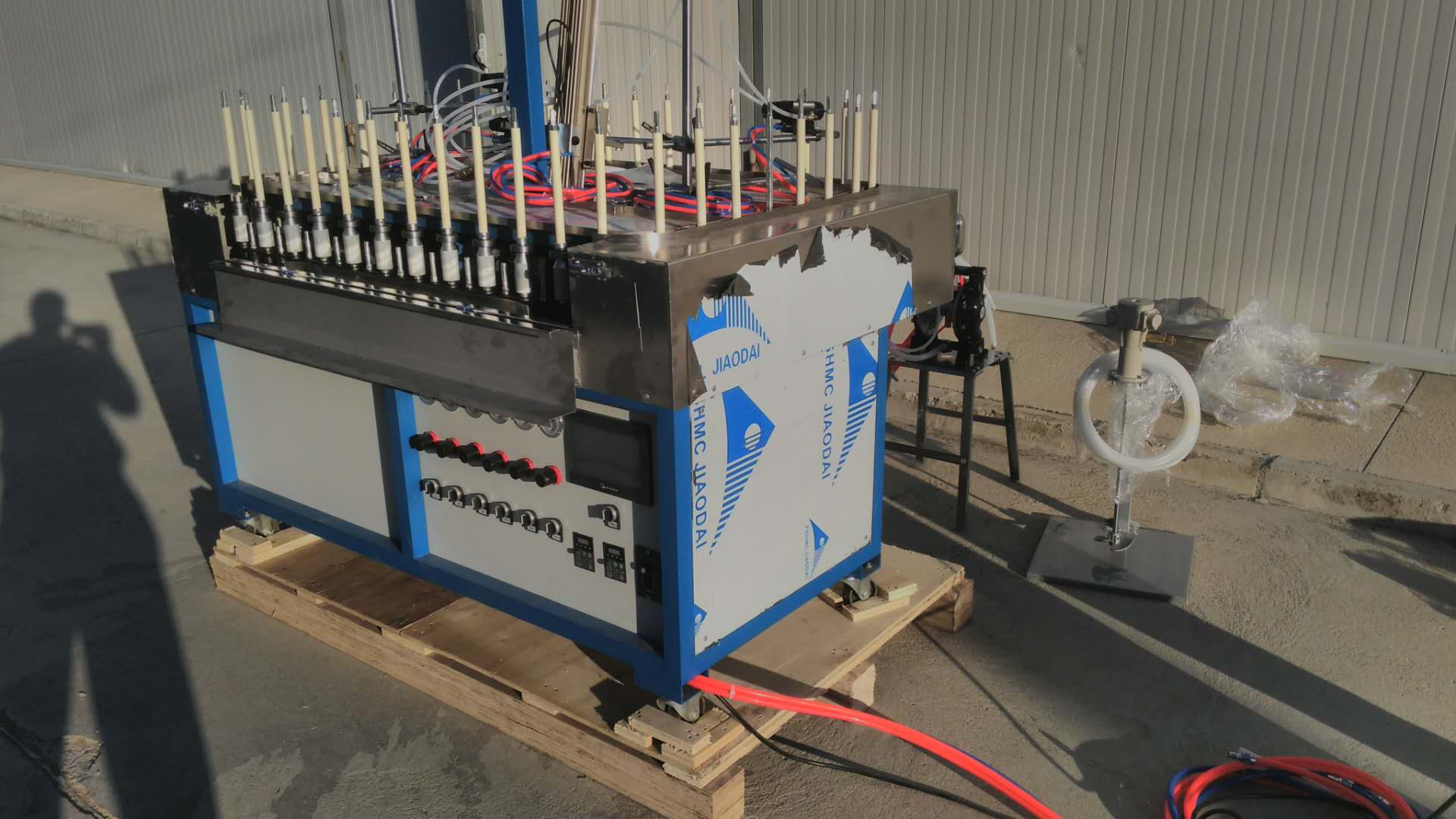 Semi Automatic Painting Line