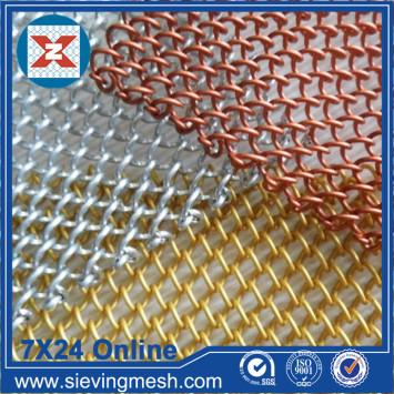 Aluminum Decorative Curtain Mesh