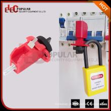 Elecpopular CE RoHS convencional de vidro enchedor de nylon MCB Miniature Circuit Breaker Lockout
