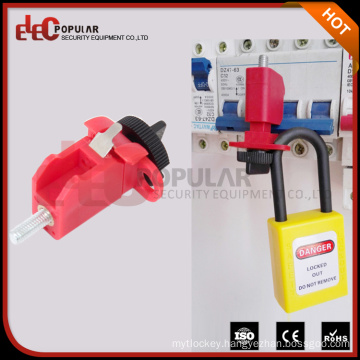 Elecpopular CE RoHS Conventional Glass-Filled Nylon MCB Miniature Circuit Breaker Lockout