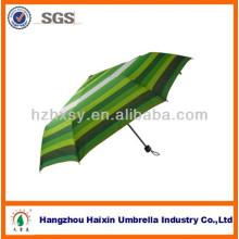 Arco iris paraguas/verde tira paraguas