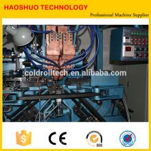 Máquina automática de fabricación de cadenas, dobladora de cadenas y soldadora