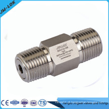 Válvula de retenção de alta pressão com fabricante de parafuso