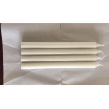 Paraffin wax religious light stick white color candles with candle factory price