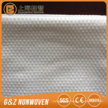 Нетканых Спанлейс 100% вискоза сетка/обычный/тиснение/точка салон для лица полотенца для рук