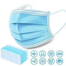 foldable disposable face mask non-woven 3 ply Disposable