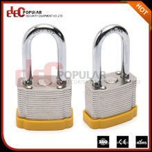 Elecpopular Most Popular Products Yellow Laminated Steel Safety Door Padlock