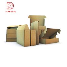 Bonne qualité faite sur commande boîte d'emballage d'échantillon ondulé fantaisie