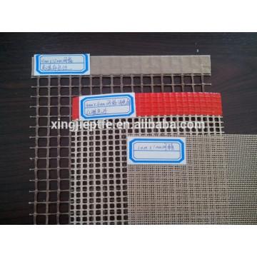 Teflon / PTFE Revêtue en fibre de verre en maille ouverte / Convoyeur / 2 * 2.5mm