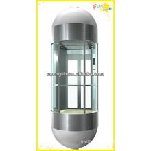 Elevador panorámico VVVF seguro