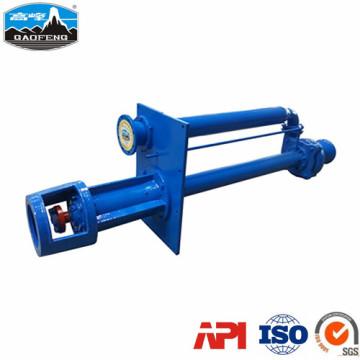 Pompe à lisier submergée industrielle verticale série ZLX