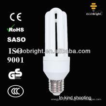 Energia Saver lâmpada T4 3U 20W 8000H CE qualidade