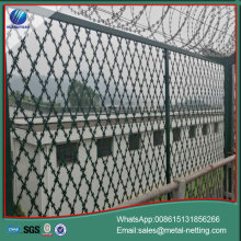 welded razor blade wire razor wire fence