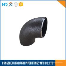 Coude à 90 rayons en acier au carbone