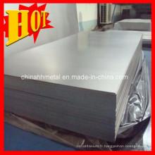 Plaque en titane ASTM B265 Cp en stock
