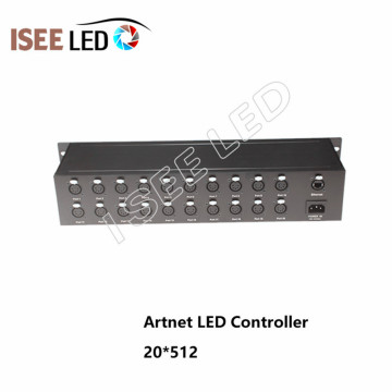 30Channels Madrix Software Artnet Led Controlador Ethernet
