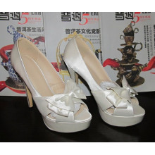 2016 Fashion High Heel Ladies Peep Toe Sandals (HCY02-1437)