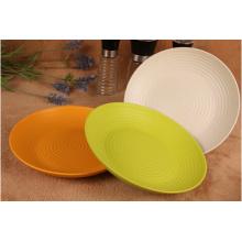 (BC-P1015) Bamboo Fiber Biodegradable Medium Plate