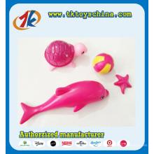 Heißer Verkauf Mini Sea Animal Spielzeug Dolphin und Schildkröte Spielzeug
