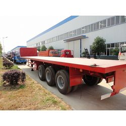 flatbed container used custom semis trailer for sale