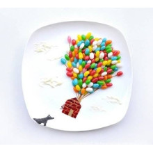Porzellan Dinner Plate (CY-D01)