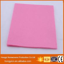 Productos de limpieza no tejidos perforados aguja multicolora estupenda absorbente de la tela