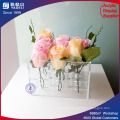 Easy Washable Clear Acrylic Flower Vases
