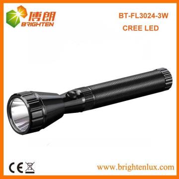 Fabrik Outlet CE Best 2SC Nicd powered High Beam Cree Aluminium Cree XPE führte wiederaufladbare elektrische Taschenlampe für Gehäuse Camping