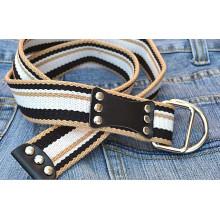Art und Weise gesponnene Jeans studierte Gürtel