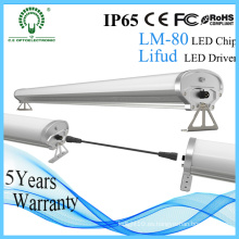Independentable IP65 1.2m Tri-Proof LED iluminación lineal