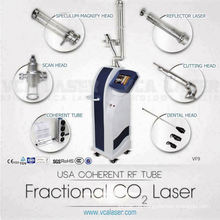 Medizinische RF-angeregte CO2-Laser-Chirurgie für Dermatologie Hauterneuerung und Verjüngung Maschine