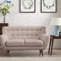 Европейский Отдых простой гостиной диван ткань диван
