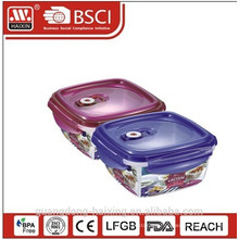PP Four Sides Buckle Vacuum Storage Container