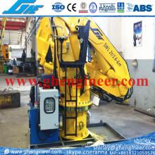 2t@6m Electric Hydraulic Marine Deck Crane