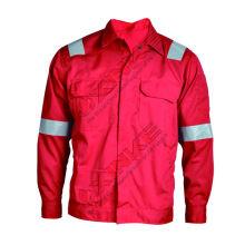 vente chaude ignifuge et anti-statique veste CVC pour ouvrier dans le champ de lutte contre les incendies