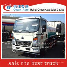 SINOTRUK HOWO 4000liter capacity water tank truck