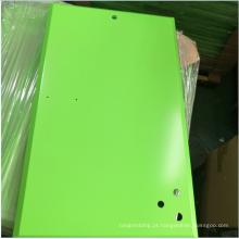 Peças de chapa metálica de alta qualidade SPCC com anodização