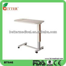 Hochwertiger ABS-Board Overbed Tisch