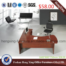 $58 Bottom Price L Shape Melamine Manager Office Table (HX-SD015)