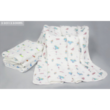 Muslin Gauze Baby Swaddling, Bath Towel with 70X150cm