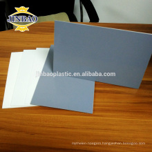 JINBAO waterproof fireproof 5mm white rigid hard pvc sheet panel