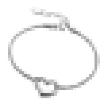 Women′s 925 Sterling Silver Fashion Personality Heart-Shaped Bracelet