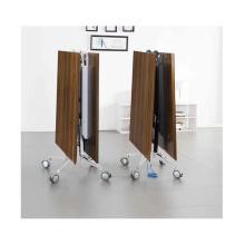 mesa plegable de la estructura superior de la melamina para 8 personas sala de reuniones